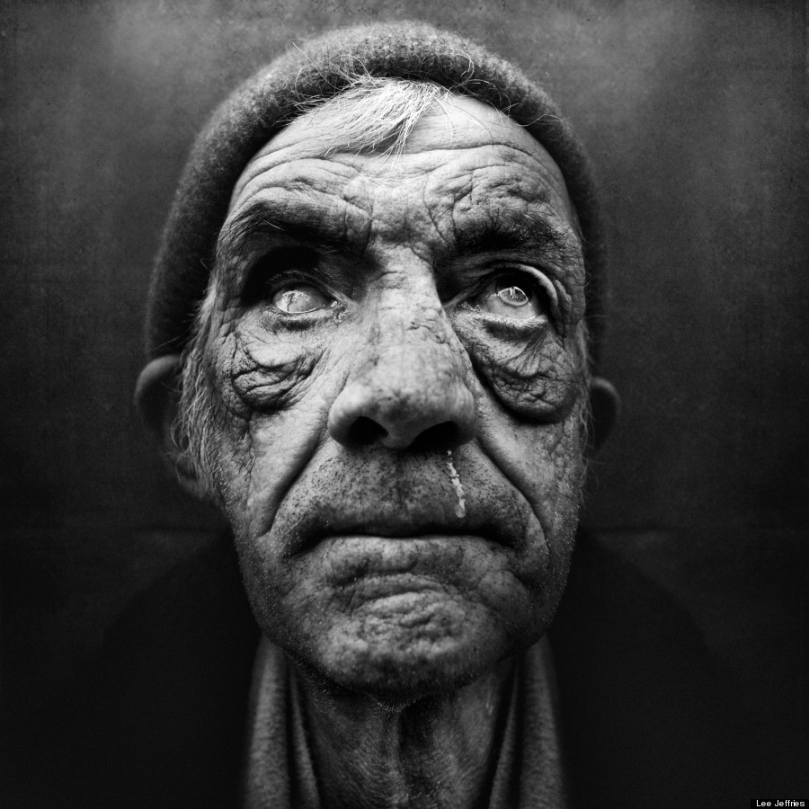 30 Black White Living Rooms That Work Their Monochrome Magic: Lee Jeffries' Portraits Of Homeless Men And Women Are