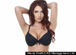 PICS: Amy Strips For New Lingerie Range