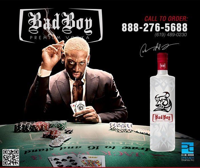 dennis rodman bad boy vodka