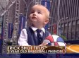 Brian Kilmeade Hits 'Trick Shot Titus' Toddler In Face (VIDEO)
