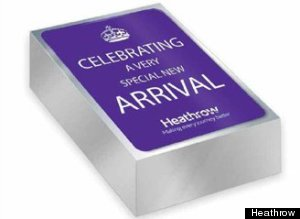 royal baby heathrow