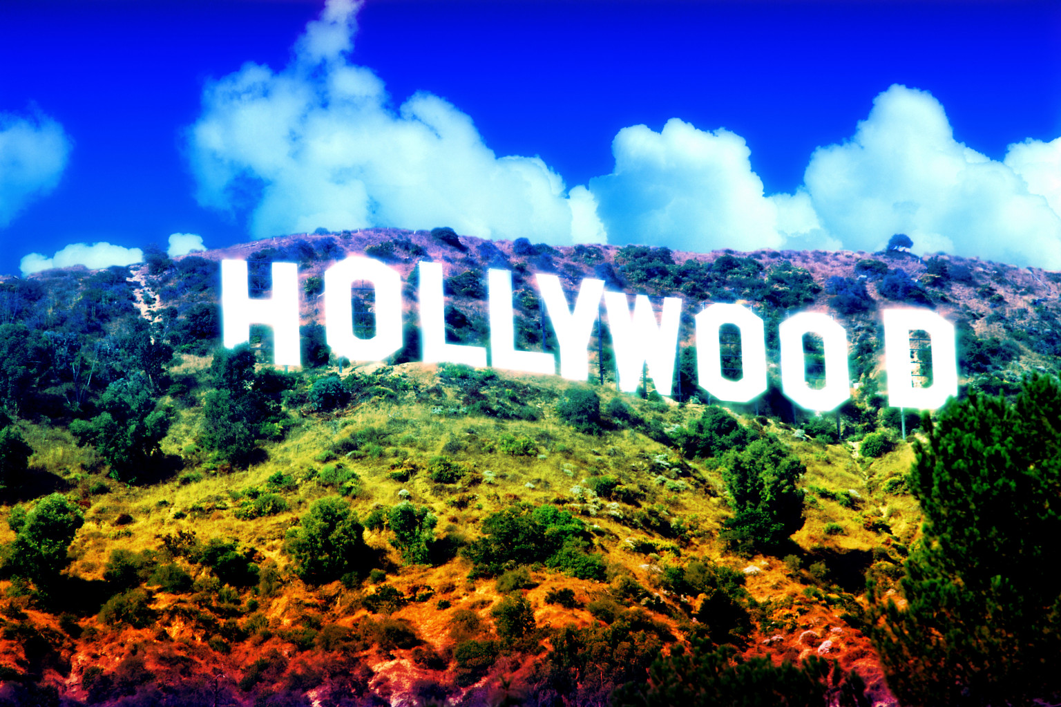 hollywood sign wallpapers posters movie night california lights history poster xana film fuente hollywoods frame code don