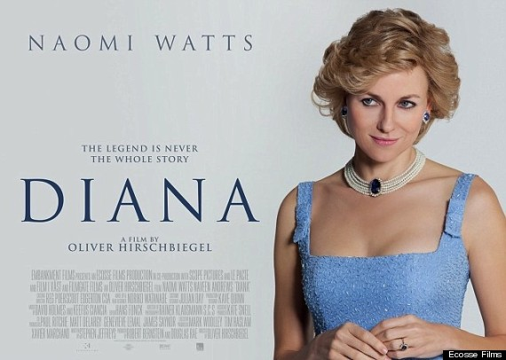 The first trailer for the film , which focuses on Princess Diana's