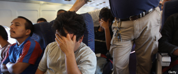 deportees flown to mexico