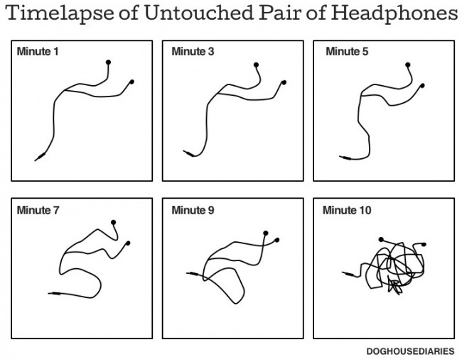 untouched headphones