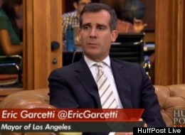 eric garcetti ride sharing
