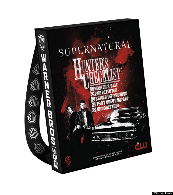 supernatural comic con bag