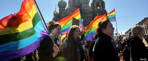 Russia gay law tourists