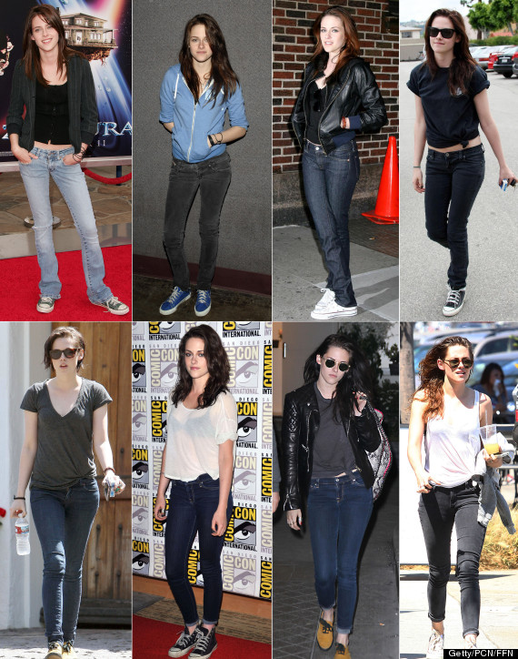 Kristen Stewart's Jeans And T-Shirt Style Hasn't Changed ...