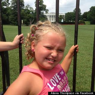 Honey Boo Boo's D.C. Visit Includes White House, Air And Space ...