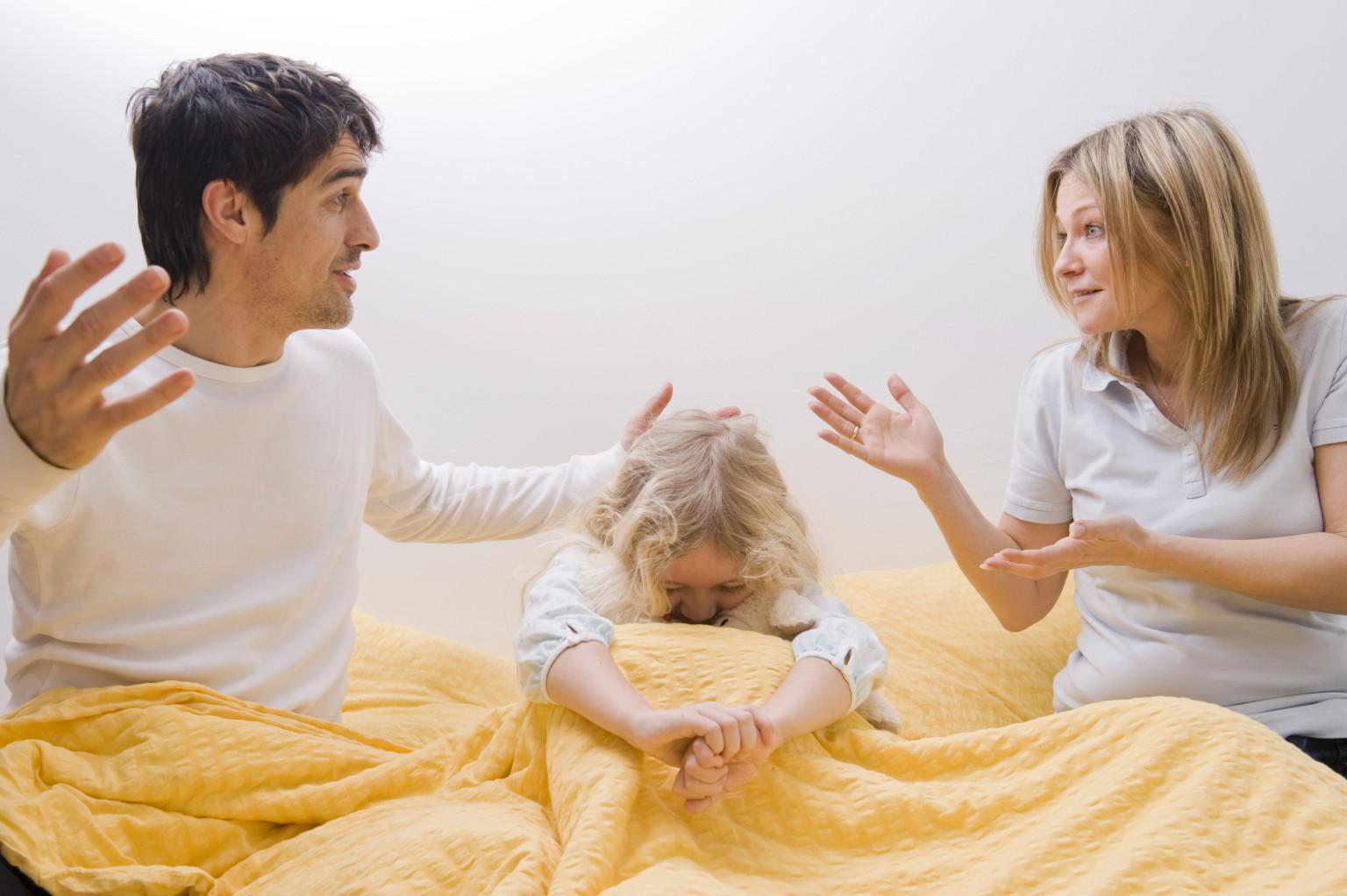 ребенок после развода родителей психология были высоко