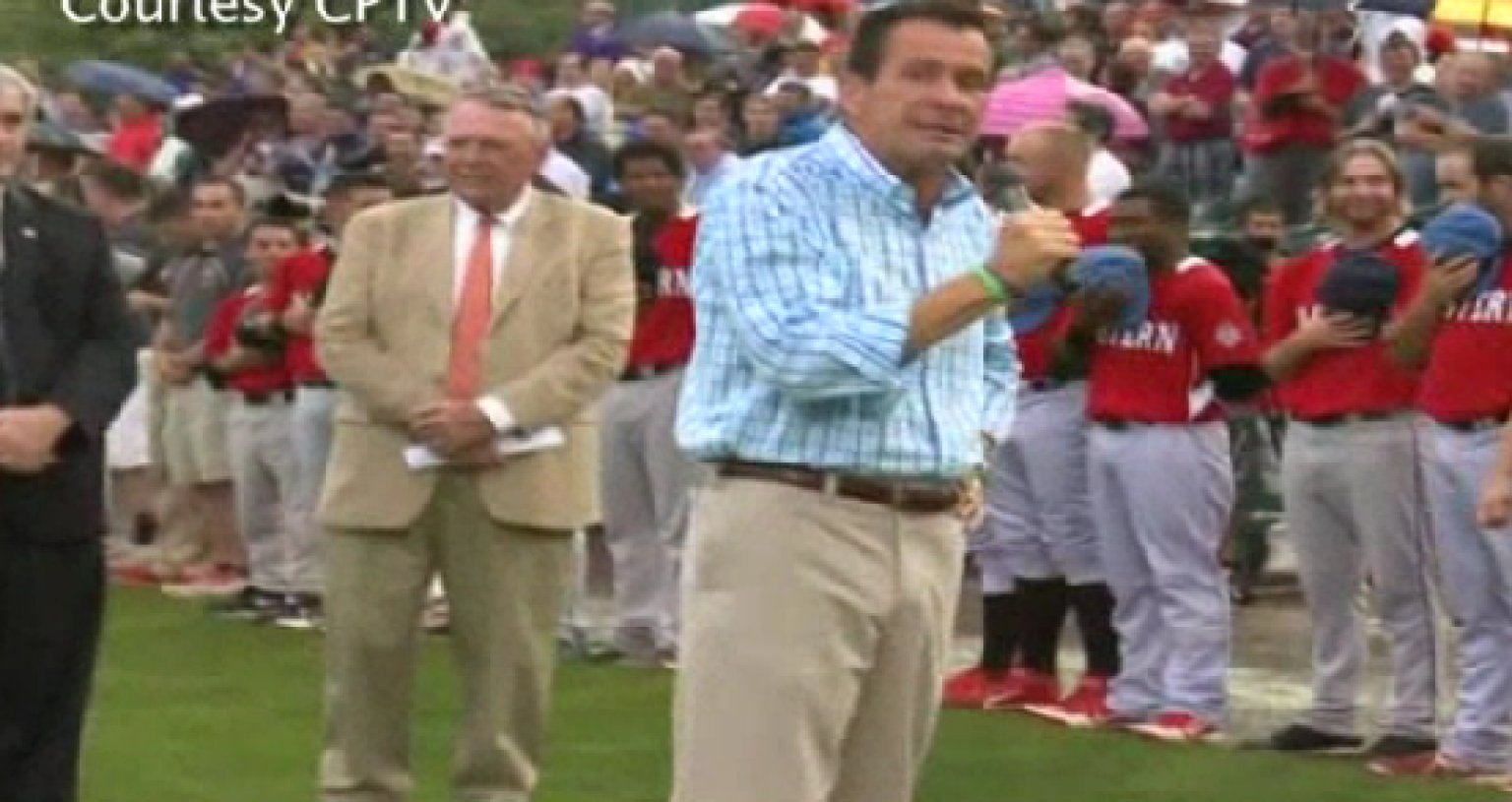 Dannel Malloy Booed At Baseball Game Video Huffpost