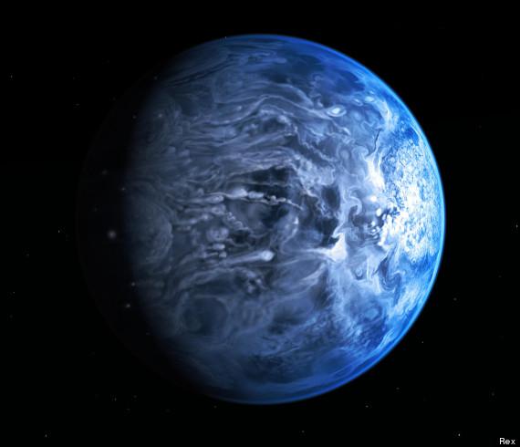 nasa blue planet