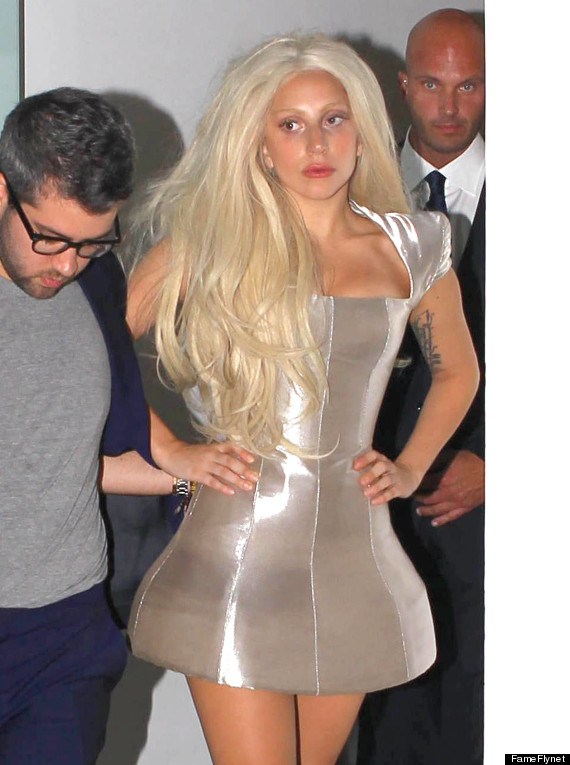 Lady Gaga S Minimal Makeup Look Is Gorgeous Photo Huffpost