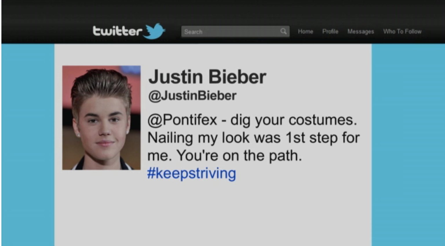 Conan Reveals Justin Bieber's Other Apology Tweets (VIDEO)