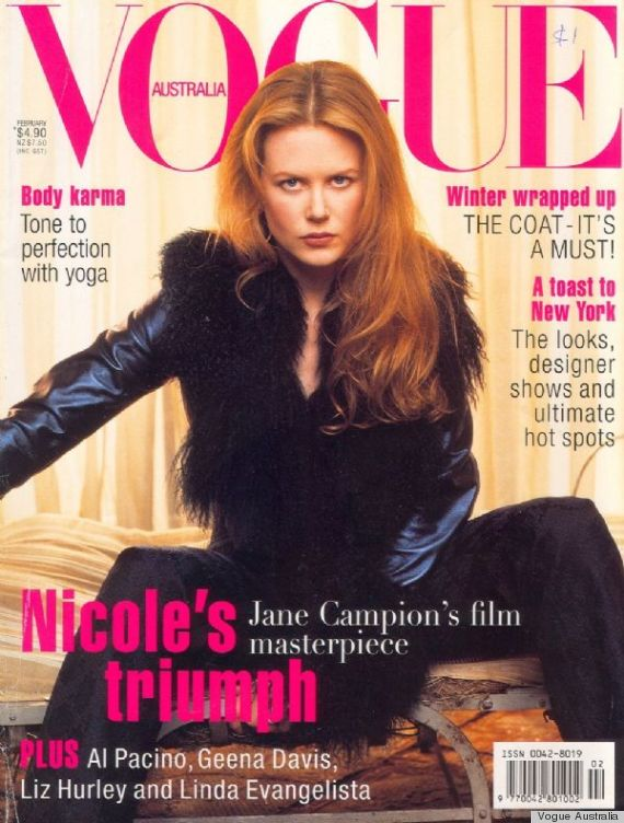 Nicole Kidman For Vogue Germany Reminds Us What A Pro She Is