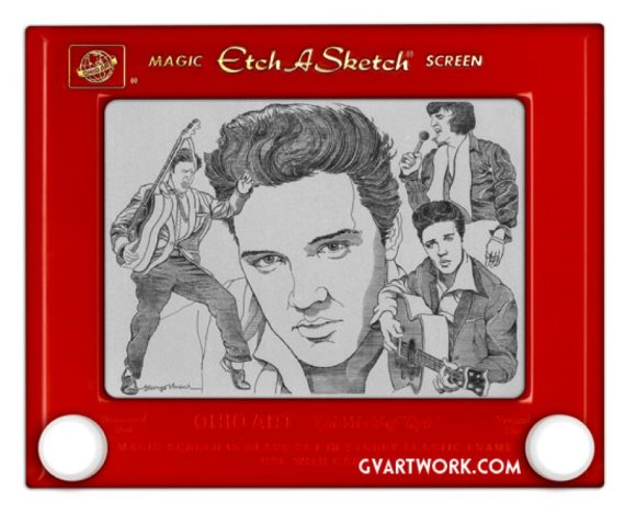 Image result for etch a sketch art