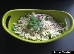 Three-Cabbage Cole Slaw Recipe