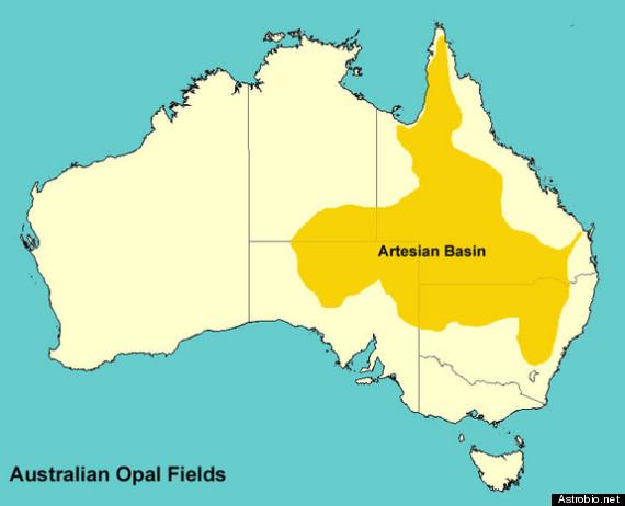 australia like mars