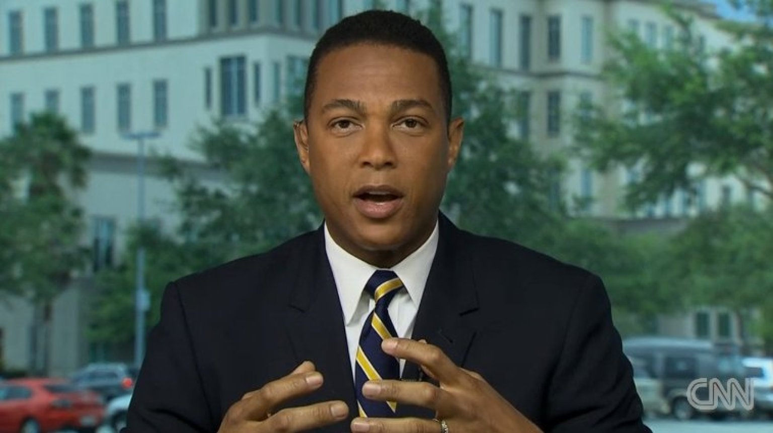 Don Lemon Just Wants To Enjoy His New Haircut In Peace