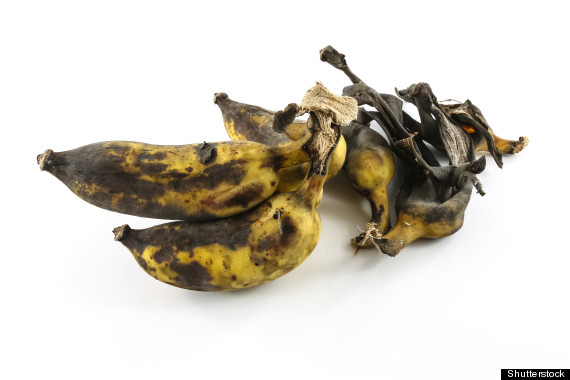 brown bananas