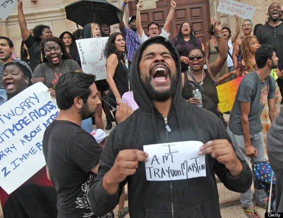 trayvon martin protest miami