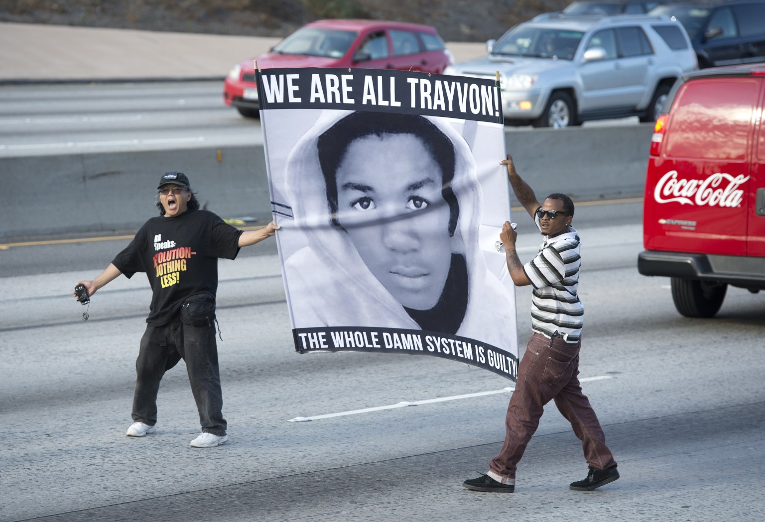 Protests In L.A. Over Zimmerman Verdict Take Violent Turn