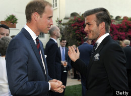 What Does Beckham Think Will And Kate Should Call The Royal Baby?