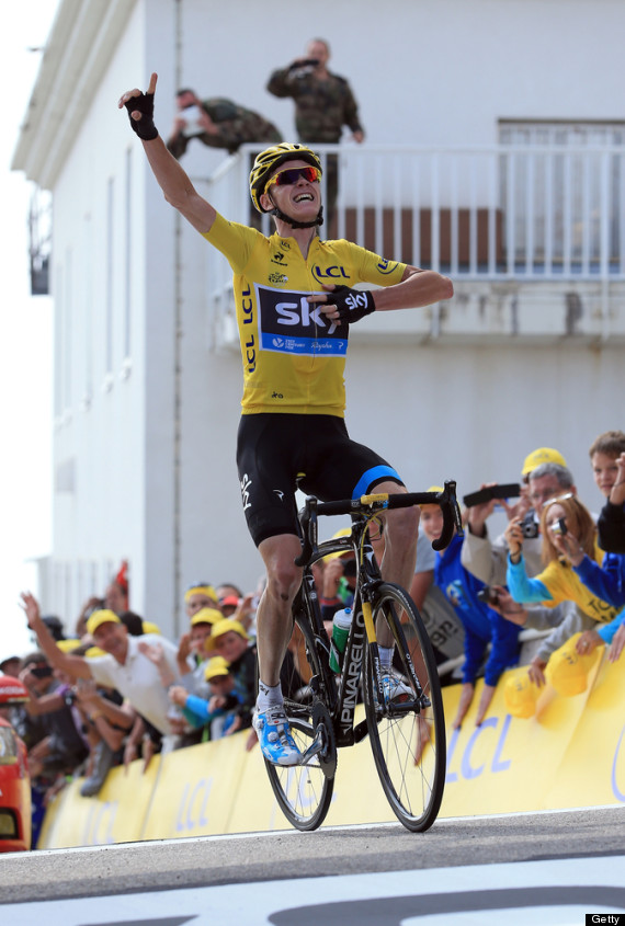 Tour De France: Chris Froome Claims Historic Win On Mont ...