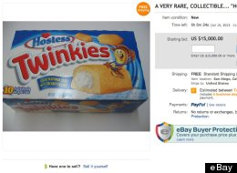 PHOTO: Someone Is Trying To Sell Expired Twinkies For $15,000