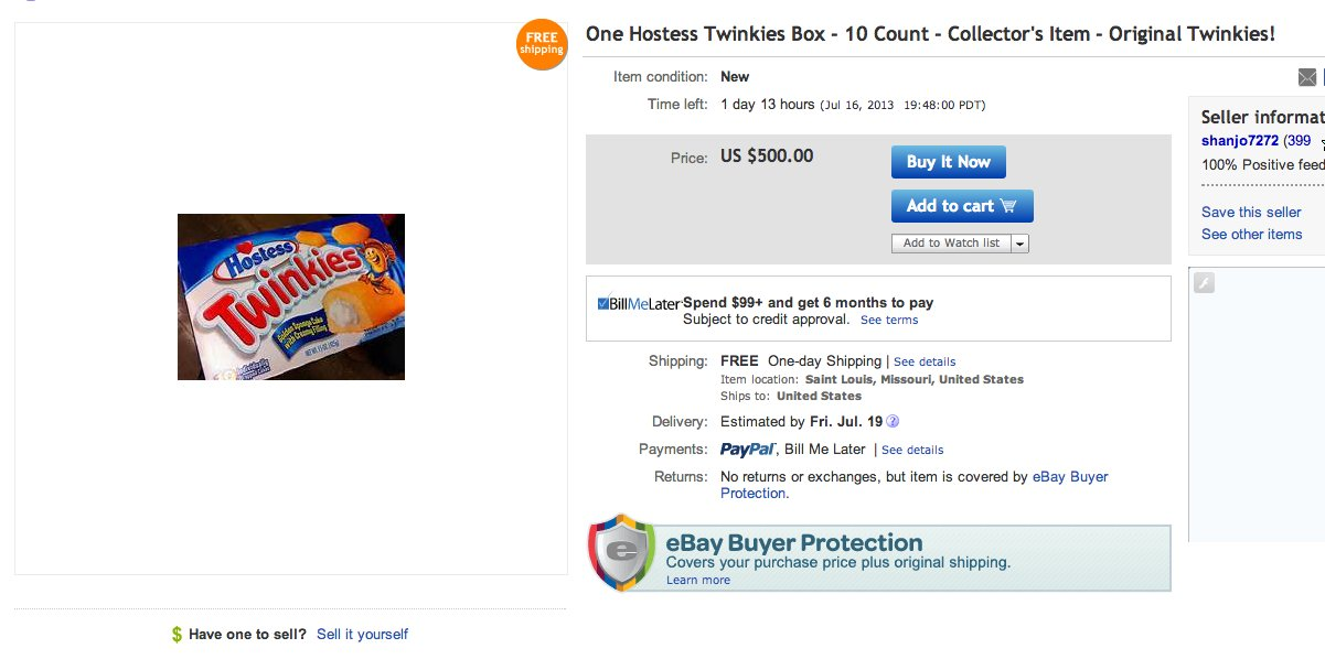 ebay twinkies 2