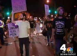 Protesters March On Washington After Zimmerman Verdict