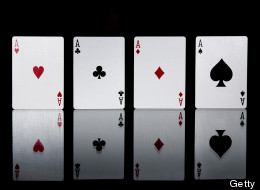 LOOK: Biggest Human Playing Card In The World
