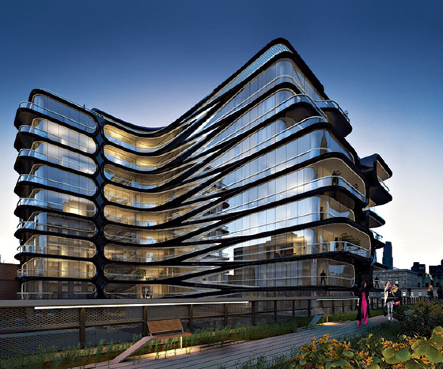 Nyc Luxury Apartments: Zaha Hadid Unveils First NYC Building: A 'Don Draper
