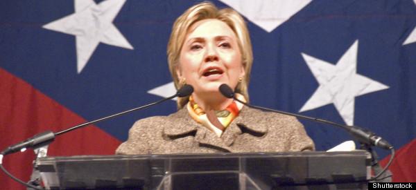 Hillary Clinton Criticizes Donald Trump, Reveals Herself to Be Queen of War