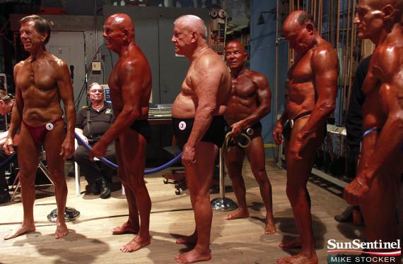 Older Bodybuilders Flourish At Florida Championship Event