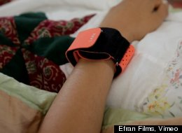 WATCH: This Wristband Will Help You Sleep Better