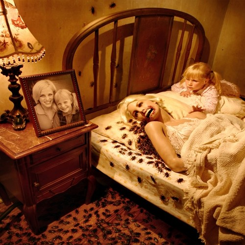 joshua hoffine s horror photographs of his daughters are the stuff  joshua hoffine snake