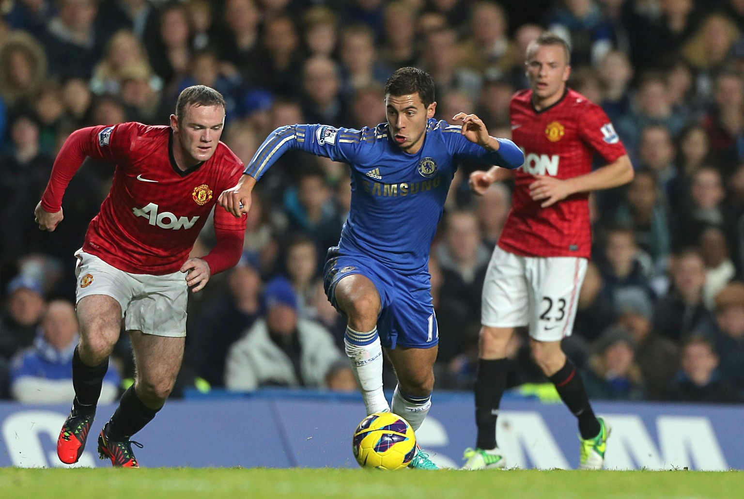 Wayne Rooney Vs Eden Hazard Eden Hazard Wants Manchester United Striker Wayne Rooney At Chelsea