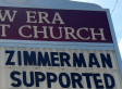 Trayvon Martin Church Sign Accuses Zimmerman Jury Of 'White Racism': Alabama Pastor Defends It