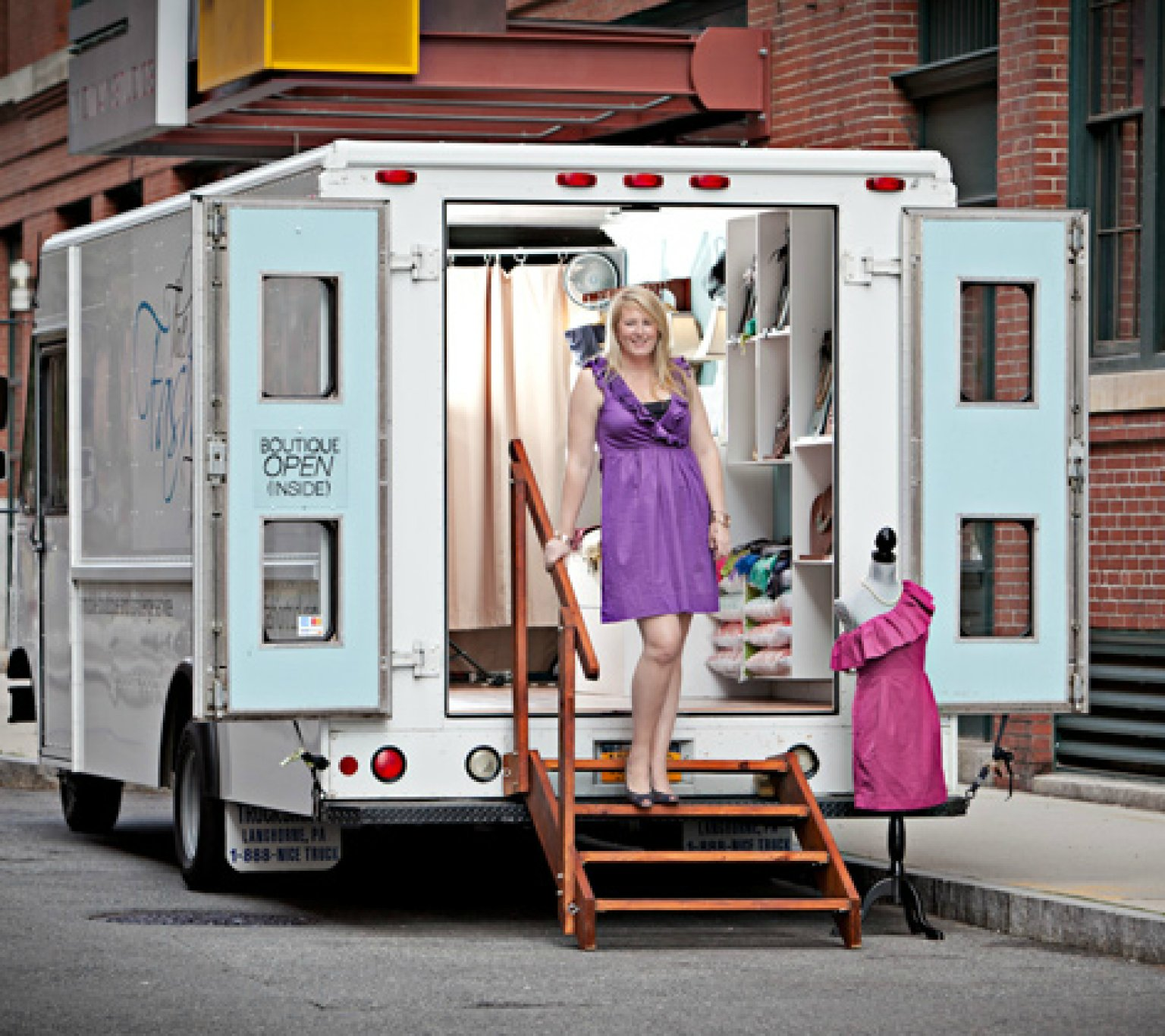 Mobile retail truck business plan