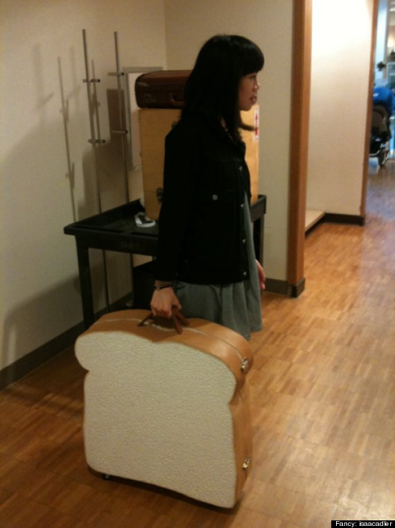 sandwich suitcase