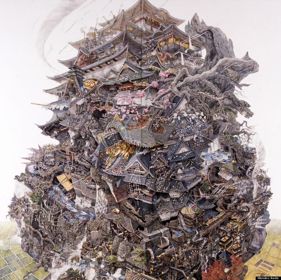 History's Rise and Fall, Manabu Ikeda, 2006 [900 × 897]