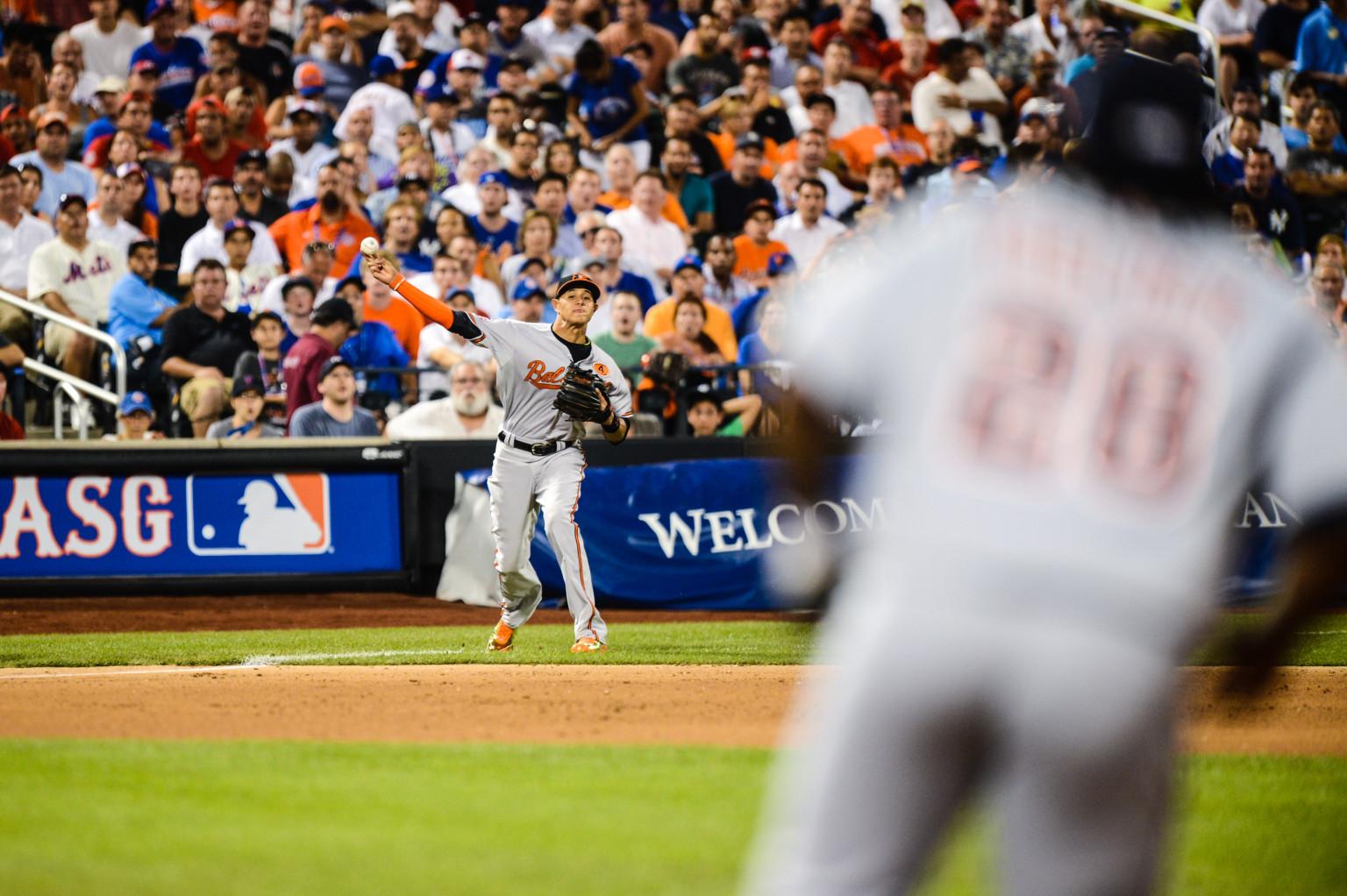 Manny Machado's Throw