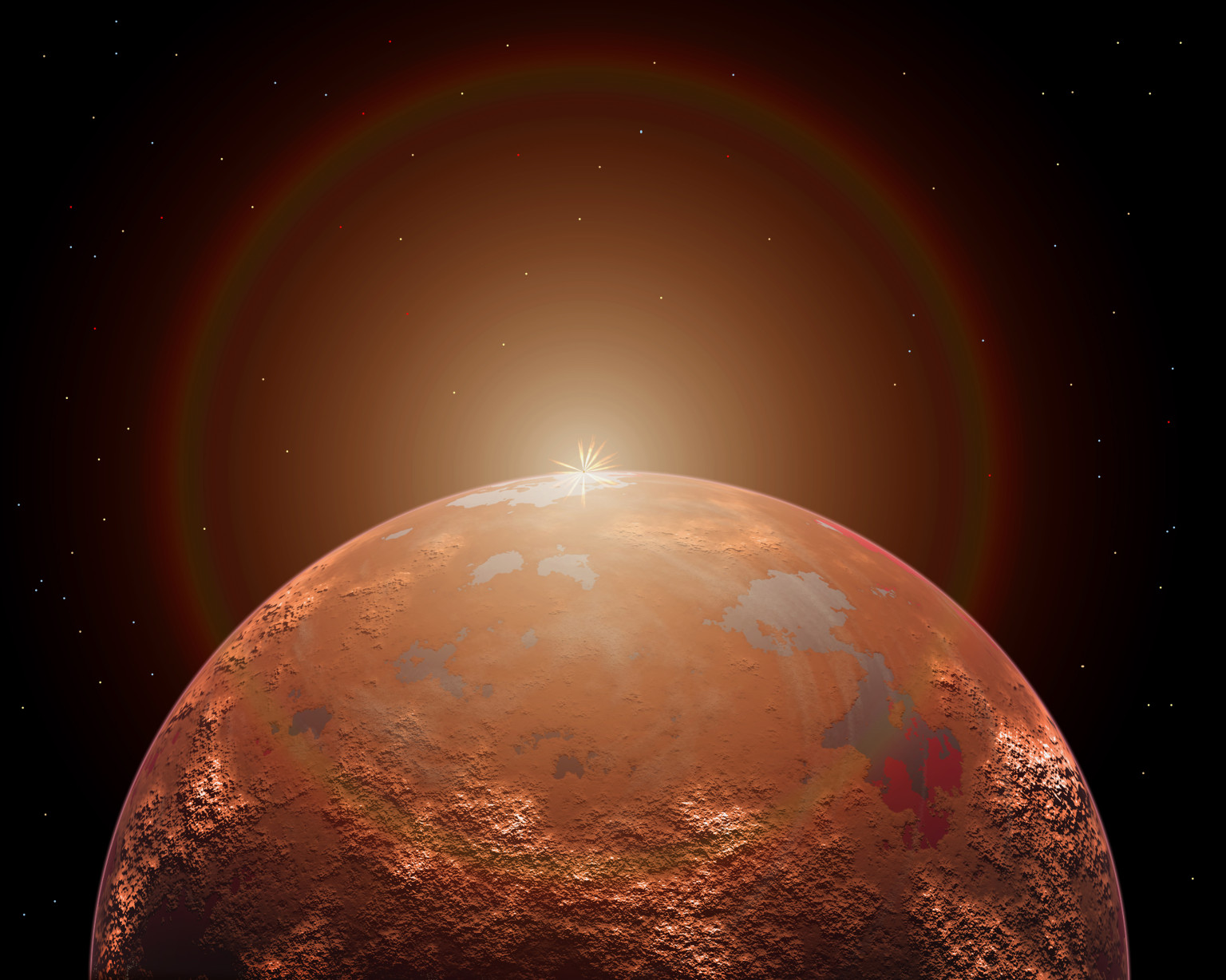 Mars Ocean? Caltech Scientists Say They've Found Strong ...