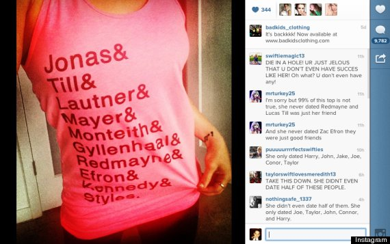 6537d2650 Bad Kids Clothing Sends 'Anti-Bullying Message' To Angry Taylor ...
