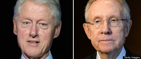 bill clinton harry reid