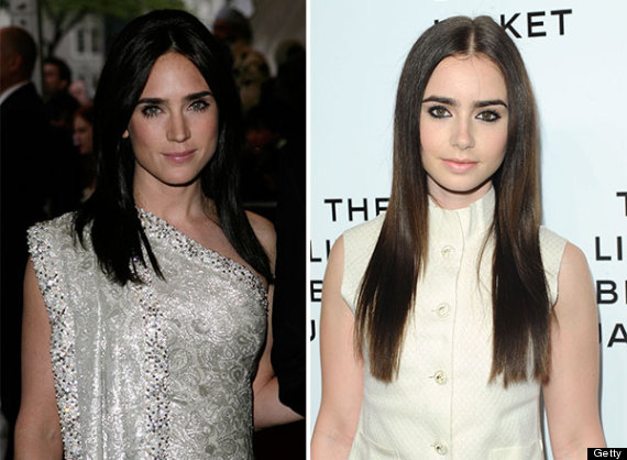 Jennifer Connelly and lily collins