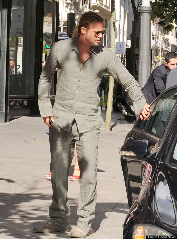 Brad Pitt Really, Real...