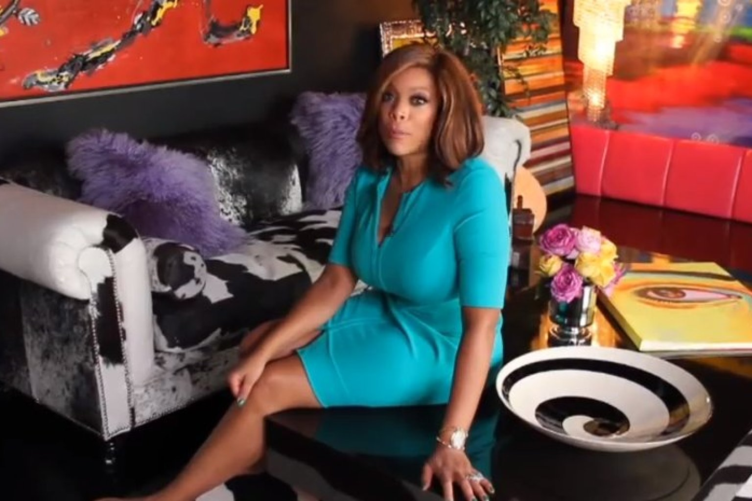 Wendy Williams39 Home Has A Room With A 39Tree Of Life39 And Lots Of